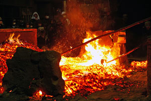 Shimane's rich tradition of iron making is still kept alive.