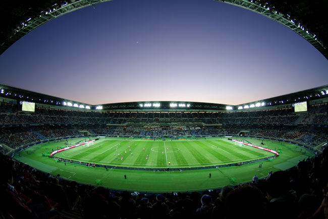 Football stadiums in Japan are poised for a tech upgrade.