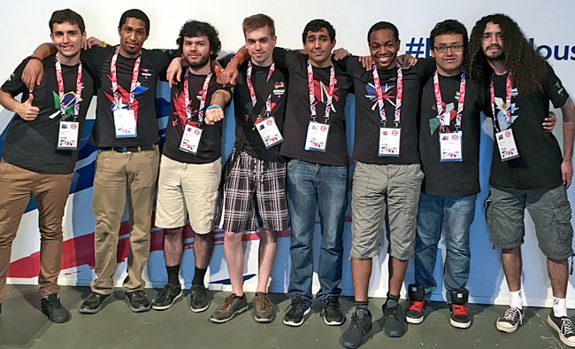 Competitors from eight countries battled it out for medals at the Rio de Janeiro eGames showcase in August 2016.