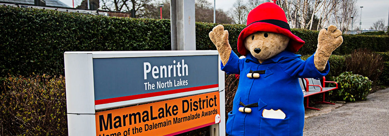 Paddington Bear did his bit to draw attention to the awards.
