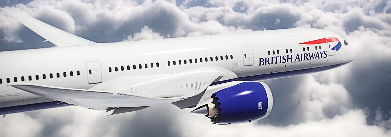 The UK–Japan route was one of the first to be flown by British Airways' new Boeing 787-9 Dreamliner planes.