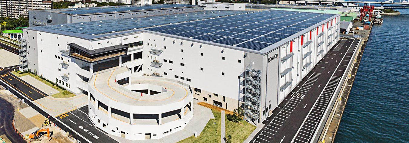 All ESR facilities have solar panels.