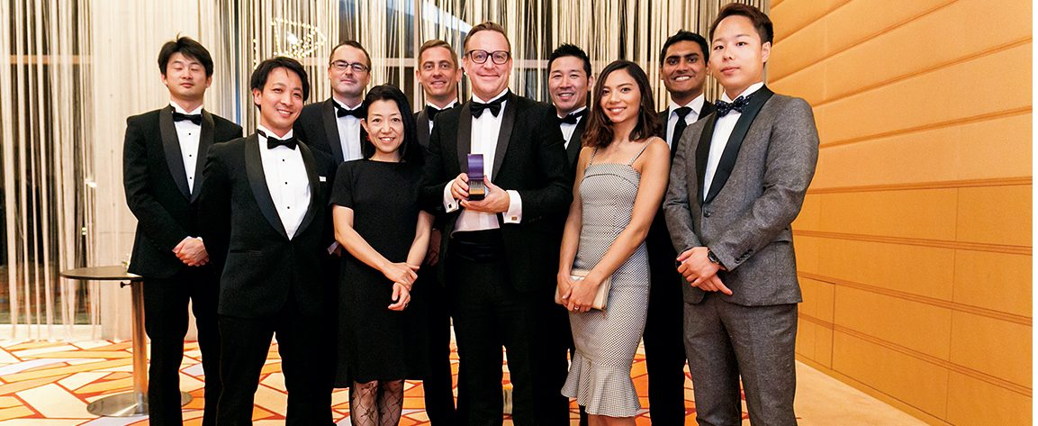 Matt Nicholls of RGF Professional Recruitment Japan: Business Leader of the Year